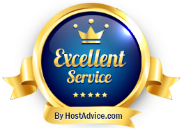 TargetHost Hosting was awarded this badge for its excellent service