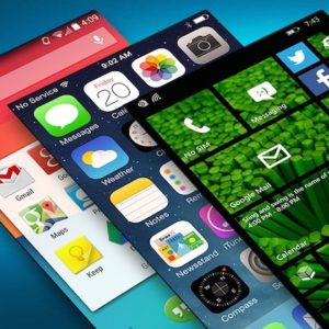 iOS, Android e Windows Phone